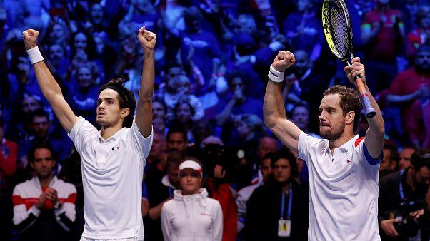 Francia a un paso de su décima Copa Davis