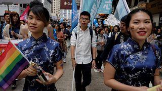 Marcha del Orgullo Gay en Hong Kong