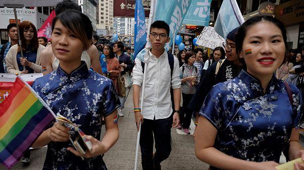 Gay Pride contra a discriminação em Hong Kong