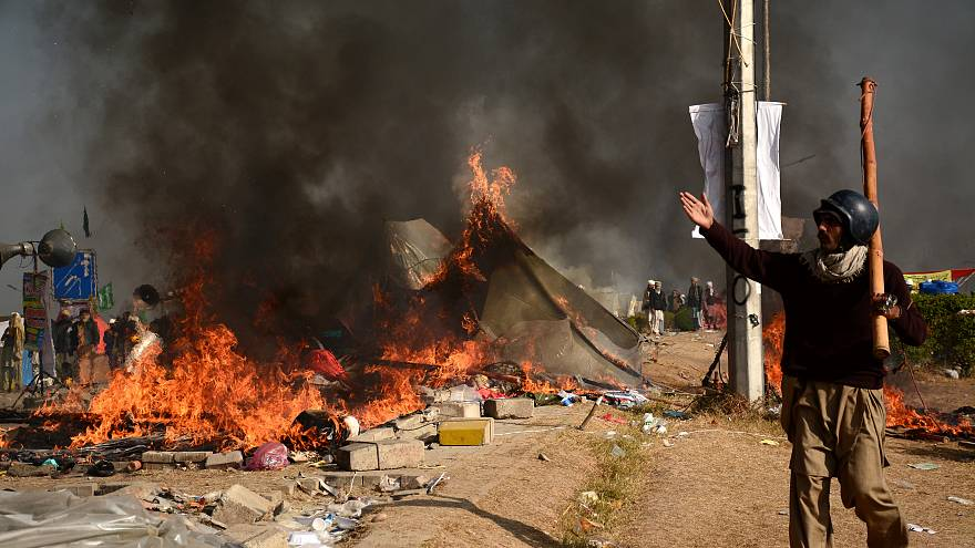Jetzt mehrere Tote bei Islamistenprotesten in Pakistan