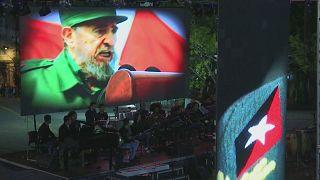 Homenaje a Fidel, un año después