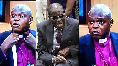 Dr John Sentamu keeps pledge to wear collar again after Mugabe's exit