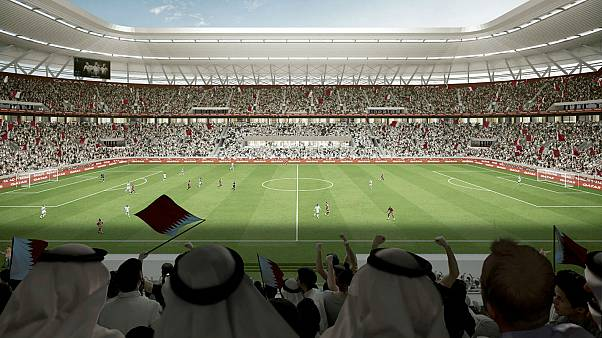 شاهد.. قطر تكشف عن ملعب قابل للتفكيك لاستضافة كأس العالم 2022