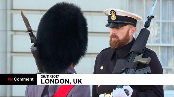 O render da Marinha Real Britânica