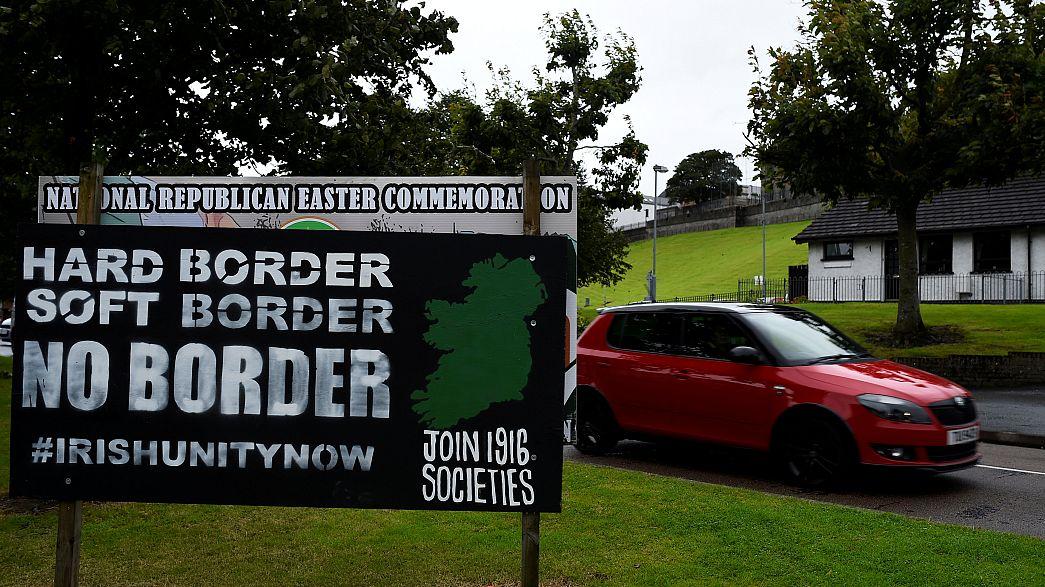 Споры об ирландской границе