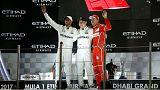 Mercedes cierra la temporada de Fórmula Uno con un doblete