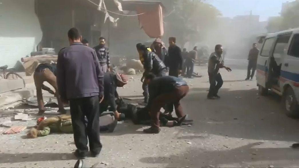 Ataques contra extremistas matam civis