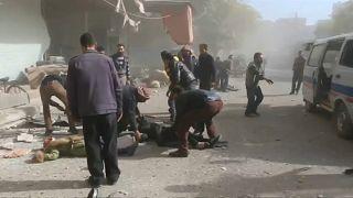 Mehr als 50 Tote bei Luftangriffen in Syrien