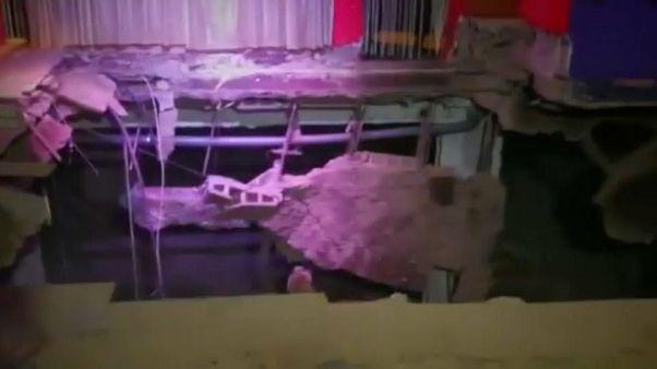 40 heridos al hundirse el suelo de una discoteca en Tenerife