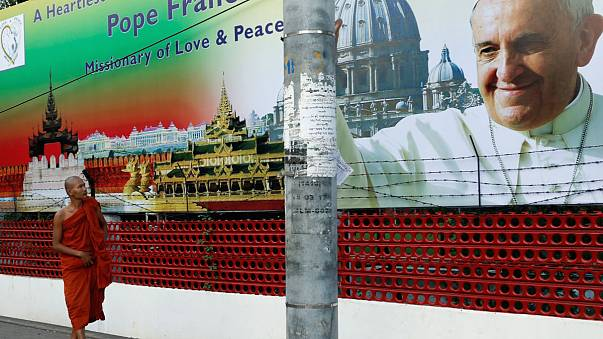 Pope Francis heads to Myanmar and diplomatic minefield