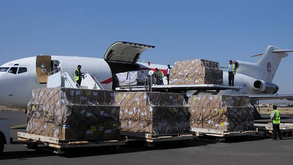 First food and aid arrives in Yemen after almost three-week-long blockage