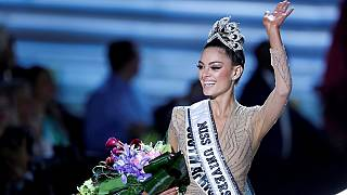 22-year-old South African crowned Miss Universe 2017