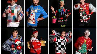 مسابقه زشتترین ژاکتهای کریسمس