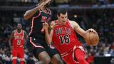 Chicago Bulls derrotados por Miami Heat
