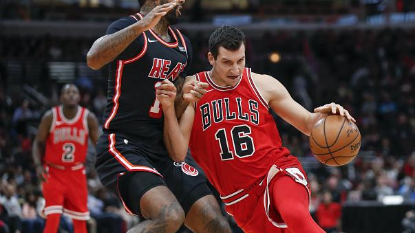 NBA: Heat-siker Chicagóban