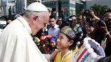 Visite délicate du pape en Birmanie