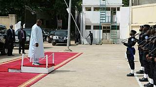[Photos] Gambian president begins use of Jammeh's residential complex