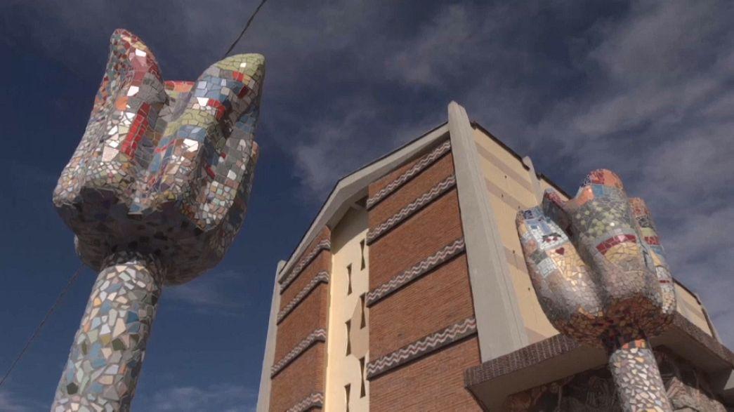 A világ legnagyobb mozaikja készül Toszkánában