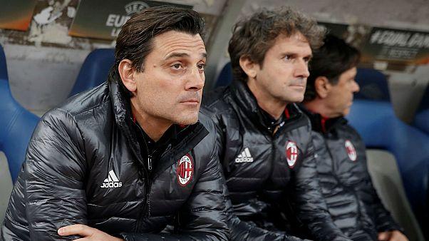 Milan perde paciência com Vincenzo Montella