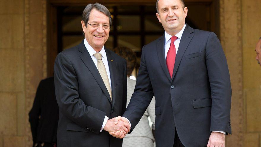 Λευκωσία: Συνάντηση του Προέδρου Αναστασιάδη με τον πρόεδρο της Βουλγαρίας