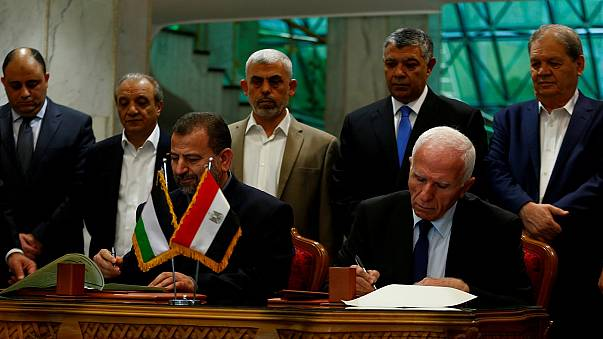 Hamas refuses to give up weapons as part of reconciliation deal with Fatah