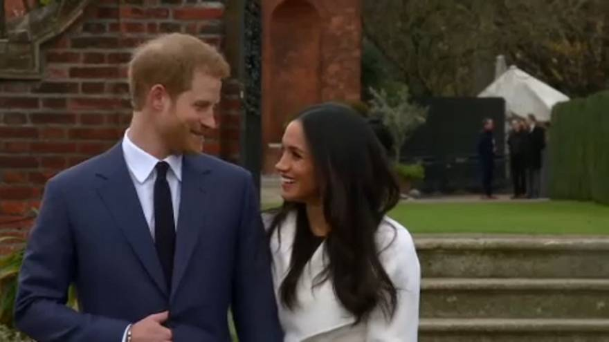 Harry and Meghan: a very public engagement