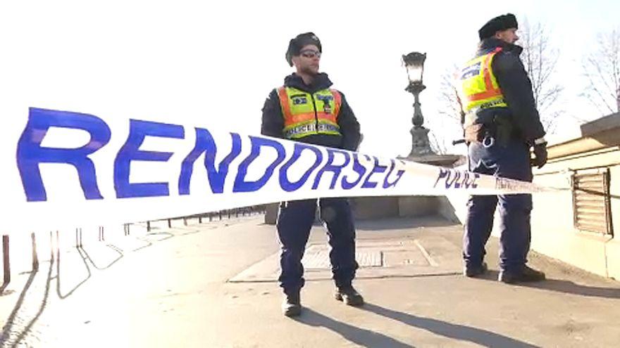 Rendkívüli rendőri jelenlét Budapesten