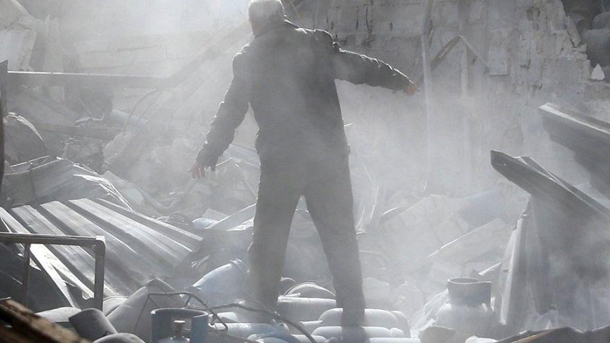 Suriye ordusu Doğu Guta'yı vurdu