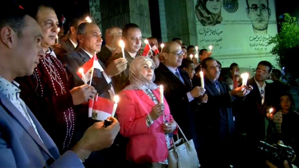 Gedenken in Kairo für die 305 Anschlagsopfer