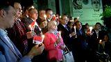 Tελετή στη μνήμη των θυμάτων της σφαγής στο τέμενος