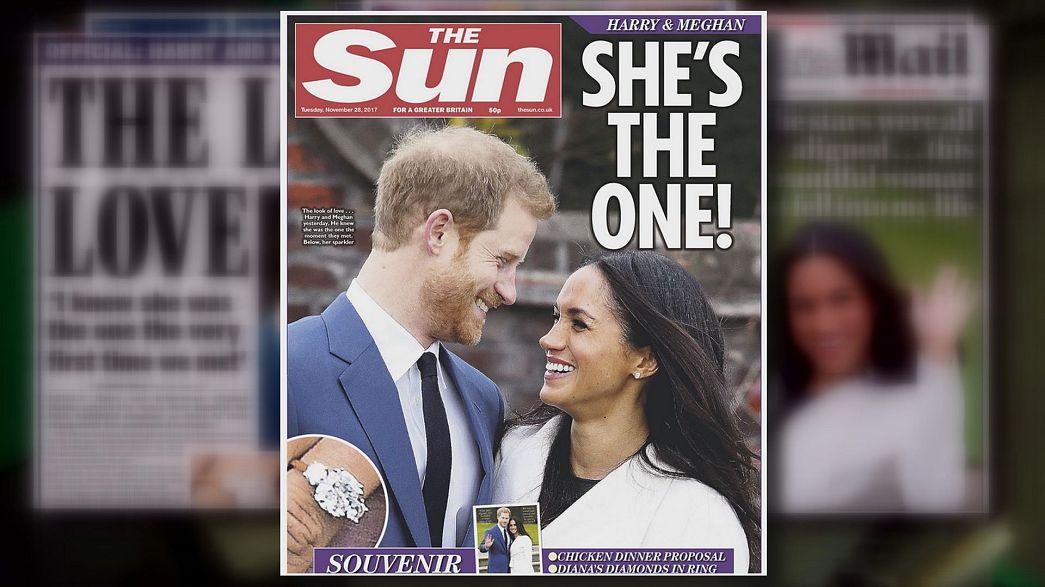 UK and US share royal engagement joy