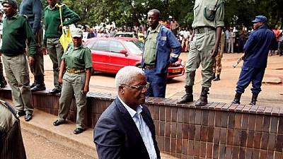 Former Zimbabwe finance minister Chombo to be held in custody until trial
