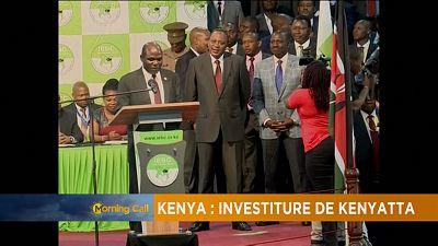 Kenya: Investiture de Kenyatta [The Morning Call]