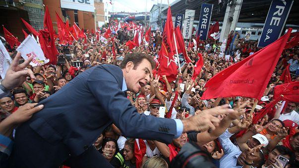TV star takes lead in Honduras election