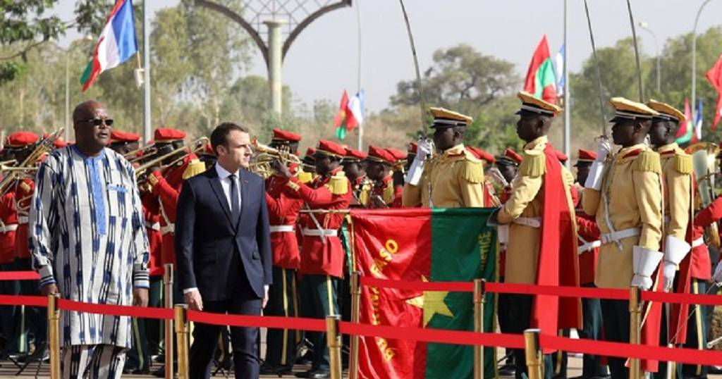 French President In Burkina Faso For A Regional Visit