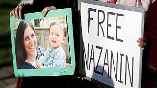 همسر نازنین زاغری به یورونیوز: به دادگاه رفتن نازنین نشانه خوبی نیست