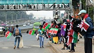 Kenya presidential inauguration: Police fire tear gas to disperse crowd