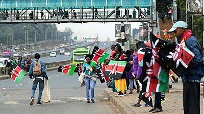 Le président kenyan Uhuru Kenyatta prête serment pour un second mandat