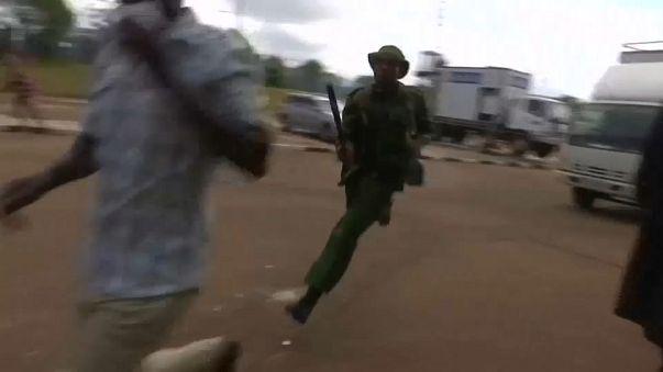 Kenyatta's inauguration marred by violence
