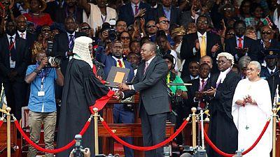 Kenya's president sworn-in as police block rival opposition meeting