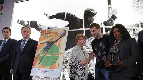 FIFA 2018 Dünya Kupası'nın resmi posteri gün yüzüne çıktı