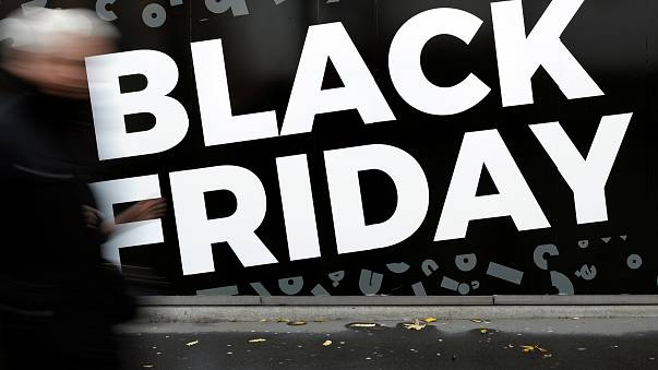 Men protest 'anti-Muslim' Black Friday promotion at Turkish shop