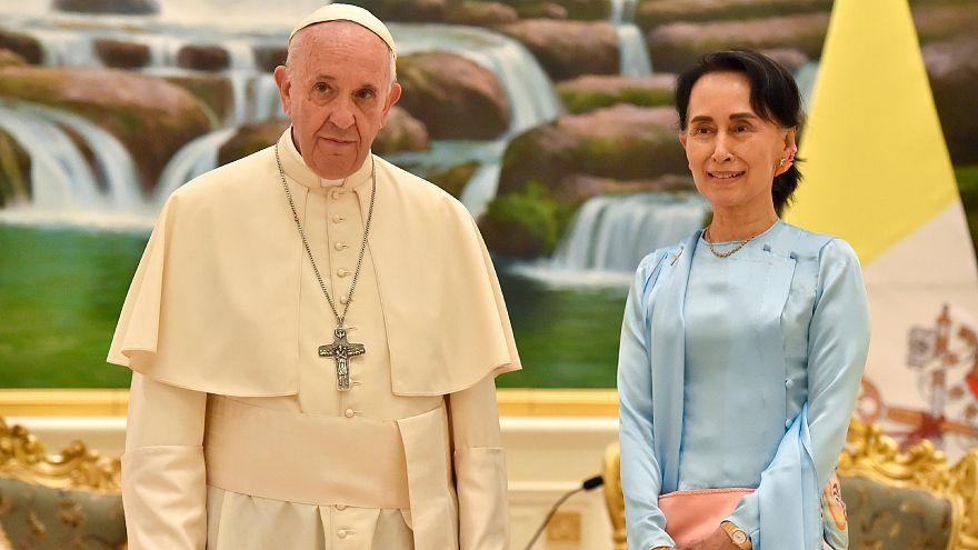 البابا إلى قادة ميانمار: التزموا بالعدل وحقوق الانسان