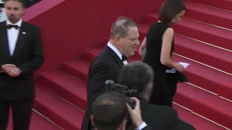 Weinstein accused of sex trafficking