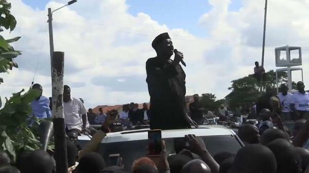 Kenya'da muhalif lider Odinga'nın mitingine polis müdahalesi