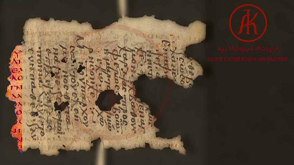 """Projeto """"Palimpsestos do Sinai"""" digitaliza manuscritos da Idade Média"""