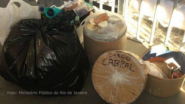 Presunto português e queijo francês na cela de Sérgio Cabral