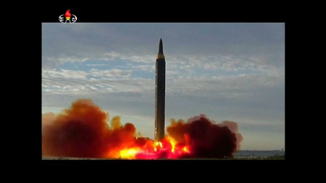 North Korea fires new ballistic missile, South Korea's military says