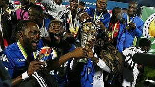 TP Mazembe back home after CAF Confederation Cup glory
