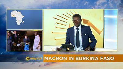 Emmanuel Macron in Burkina Faso [The Morning Call]